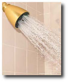 Shower with High Water Pressure